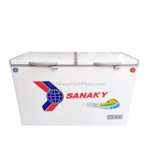 Tủ đông Sanaky VH-4099W1, 280L 2 ngăn đông mát dàn đồng