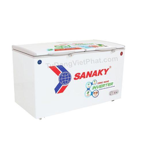 Tủ đông STủ đông Sanaky VH-4099W3 INVERTER 2 ngăn đông mát