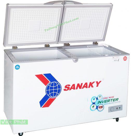 Tủ đông Sanaky VH-4099W3 INVERTER 2 ngăn đông mát