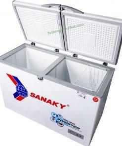 Tủ đông Sanaky VH-4099W3 Inverter 280L 2 ngăn đông mát