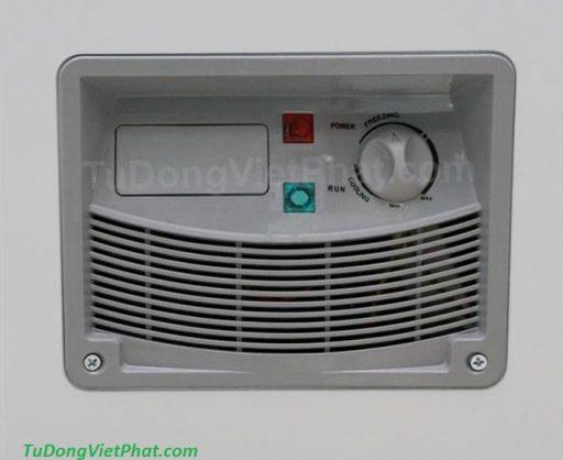 Bảng điều khiển tủ đông Alaska HB-550C 1 ngăn đông dàn đồng