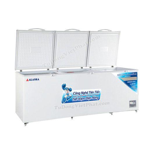 Tủ đông Alaska HB-1400C 1 ngăn đông 3 nắp dỡ 1400L