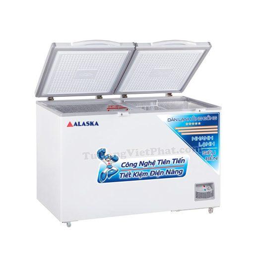 Tủ đông Alaska HB-550C 550L 1 ngăn đông dàn đồng