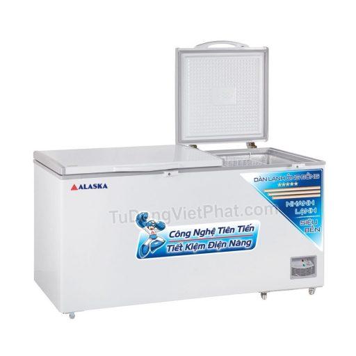 Tủ đông Alaska HB-650C 650L 1 ngăn đông dàn đồng