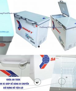 Tiện ích của tủ đông Sanaky INVERTER VH-4099W4KD