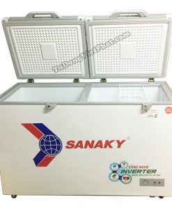 Bên trong tủ đông Sanaky INVERTER VH-4099W4KD