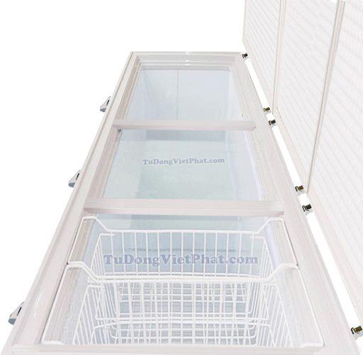 Bên trong tủ đông Sanaky VH-1399HY3