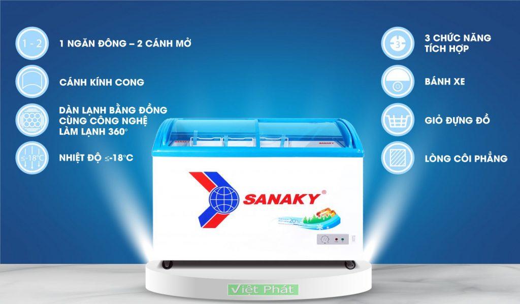 Tính năng tủ đông Sanaky VH-4899K