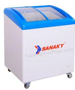 Tủ đông Sanaky VH-282K, cánh kính cong