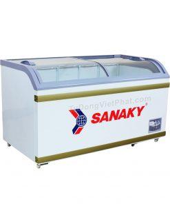 Tủ đông Sanaky VH-8088K, cánh kính cong 500 lít