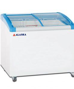 Tủ đông Alaska SD-500Y cánh kính cong 350 lít