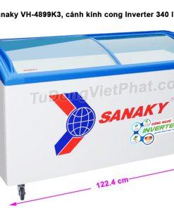 Kích thước tủ đông Sanaky VH-4899K3