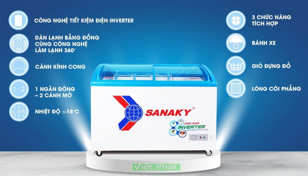 Tính năng của Tủ đông Sanaky VH-4899K3