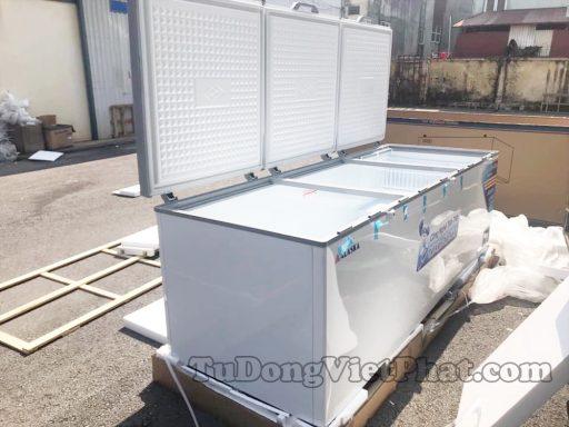 Tủ đông Alaska HB-1500C 1 ngăn đông 3 nắp dỡ 1500L dàn đồng