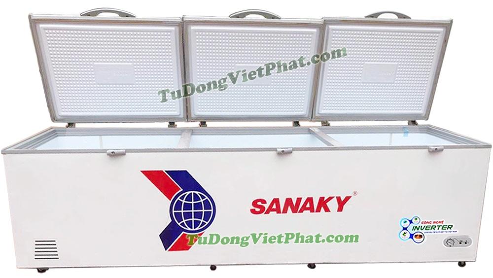 Mặt trước tủ đông Sanaky VH-1399HY3