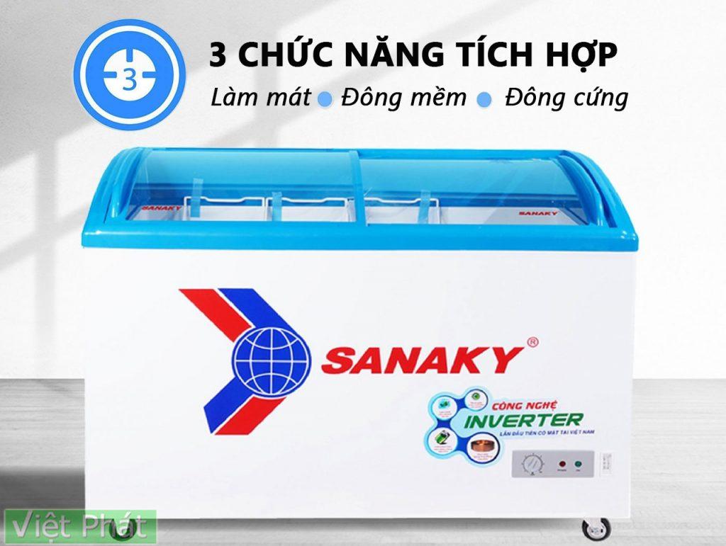 Tủ đông Sanaky VH-4899K3 tích hợp 3 chức năng