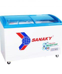 Tủ đông Sanaky VH-4899K3, mặt kính cong 340 lít Inverter