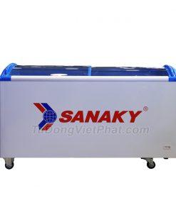 Tủ đông Sanaky VH-682K, cánh kính cong 450 lít