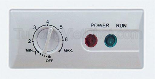 Bảng điều khiển tủ đông Alaska BCD-5068CI