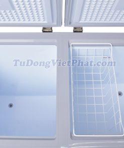 Bên trong tủ đông Sanaky VH-2599W3