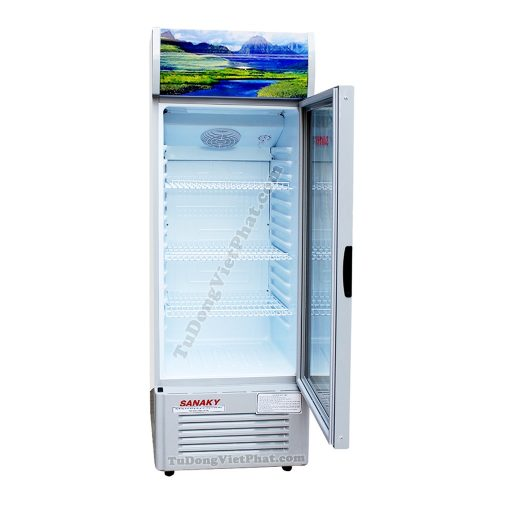 Bên trong tủ mát Sanaky VH-218K, 170 lít