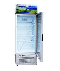 Bên trong tủ mát Sanaky VH-218K3, 170 lít Inverter