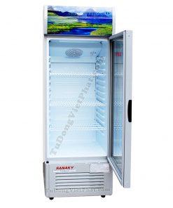 Bên trong tủ mát Sanaky VH-258K