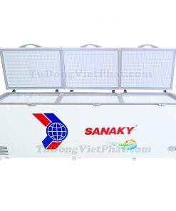 Tủ đông Sanaky VH-1199HY, 900L 1 ngăn đông dàn đồng