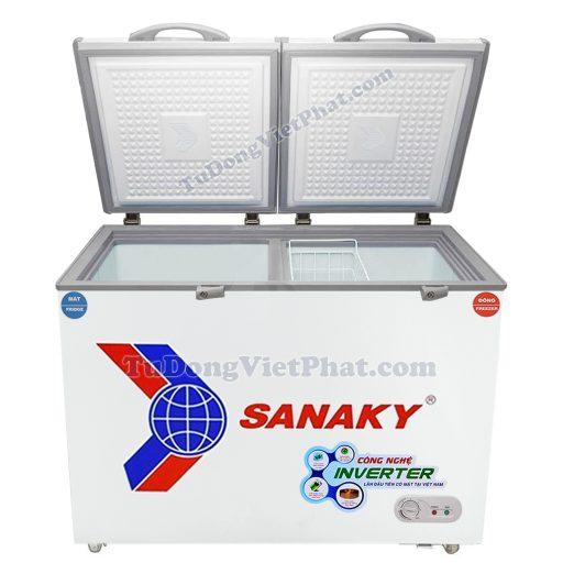 Mặt trước tủ đông Sanaky VH-2599W3