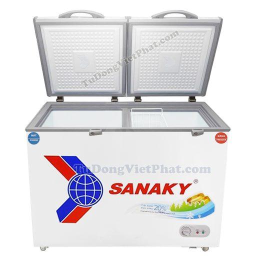 Mặt trước tủ đông Sanaky VH-2599W1