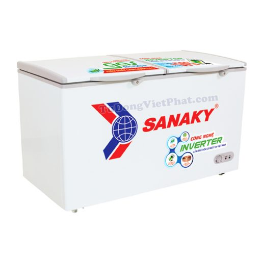 Tủ đông mini Sanaky VH-2599A3, Inverter 1 ngăn 208L