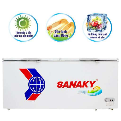 Tủ đông Sanaky VH-8699HY, 761L 1 ngăn đông