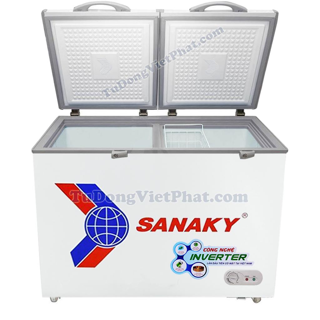 Mặt trước tủ đông mini Sanaky VH-2599A3