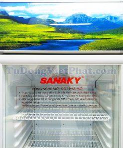 Tủ mát Sanaky VH-308K3, 240 lít Inverter