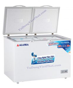 Tủ đông Alaska BCD-5568CI 550L 2 ngăn đông mát Inverter