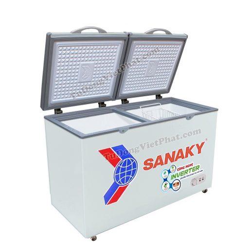 Tủ đông mini Sanaky VH-2299A3, Inverter 175L 1 ngăn