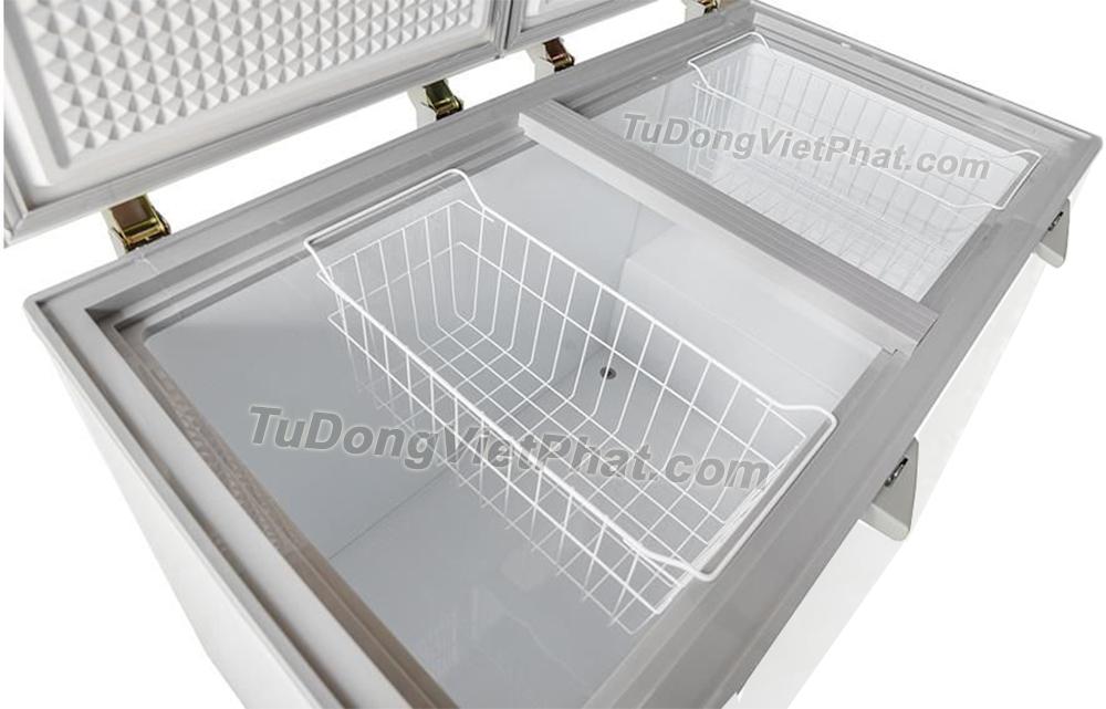 Bên trong tủ đông Sanaky VH-5699HY3