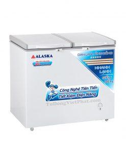 Tủ đông Alaska BCD-3568C 350L 2 ngăn đông mát dàn đồng