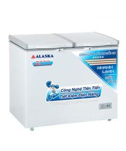 Tủ đông Alaska BCD-5568C 550L 2 ngăn đông mát dàn đồng