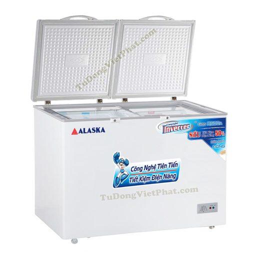 Tủ đông Alaska BCD-5068CI 500L 2 ngăn đông mát Inverter