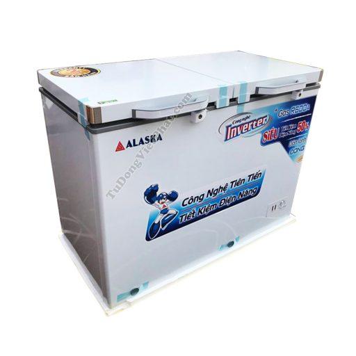 Tủ đông Alaska FCA-4600CI 450L 2 ngăn đông mát Inverter