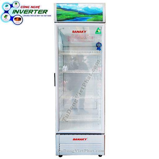 Tủ mát Sanaky VH-408K3, 340 lít Inverter