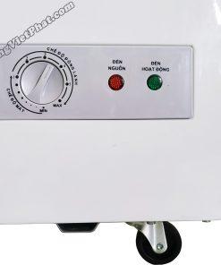 Bảng điều khiển tủ đông Sanaky 100 lít VH-1599HYKD mặt kính xanh