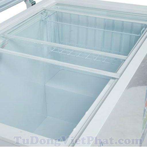 Bên trong tủ đông Aqua AQF-335EGD