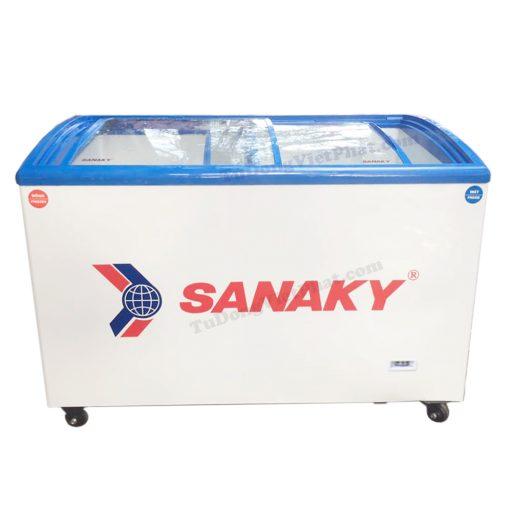 Tủ đông Sanaky VH-402KW, mặt kính 312L 2 ngăn đông mát