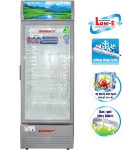 Tủ mát Sanaky VH-168KL, 130 lít công nghệ Low-E