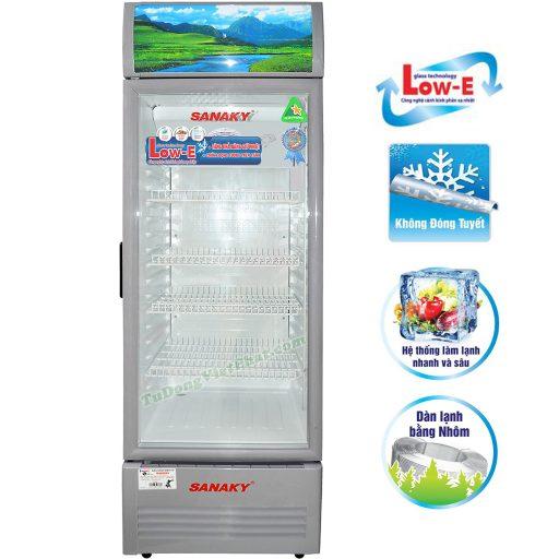 Tủ mát Sanaky VH-308KL, 240 lít công nghệ Low-E