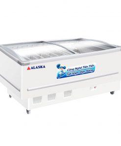 Tủ đông Alaska SD-7W mặt kính cong 700 lít