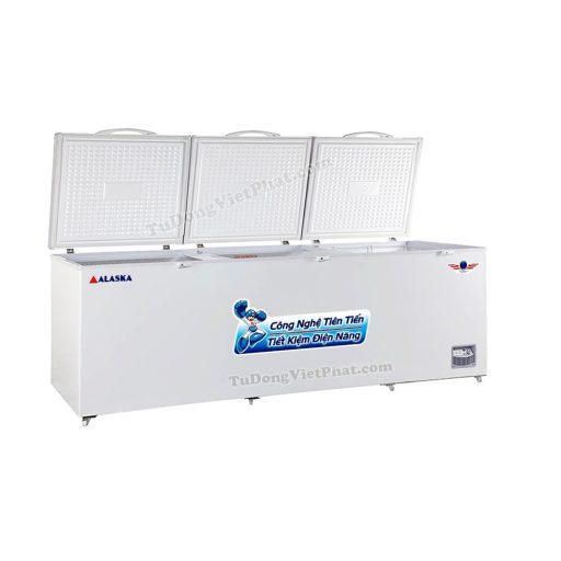 Tủ đông Alaska HB-1100 1 ngăn đông 3 nắp dỡ 1100L