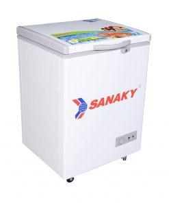 Tủ đông Sanaky 100L VH-1599HY dàn đồng